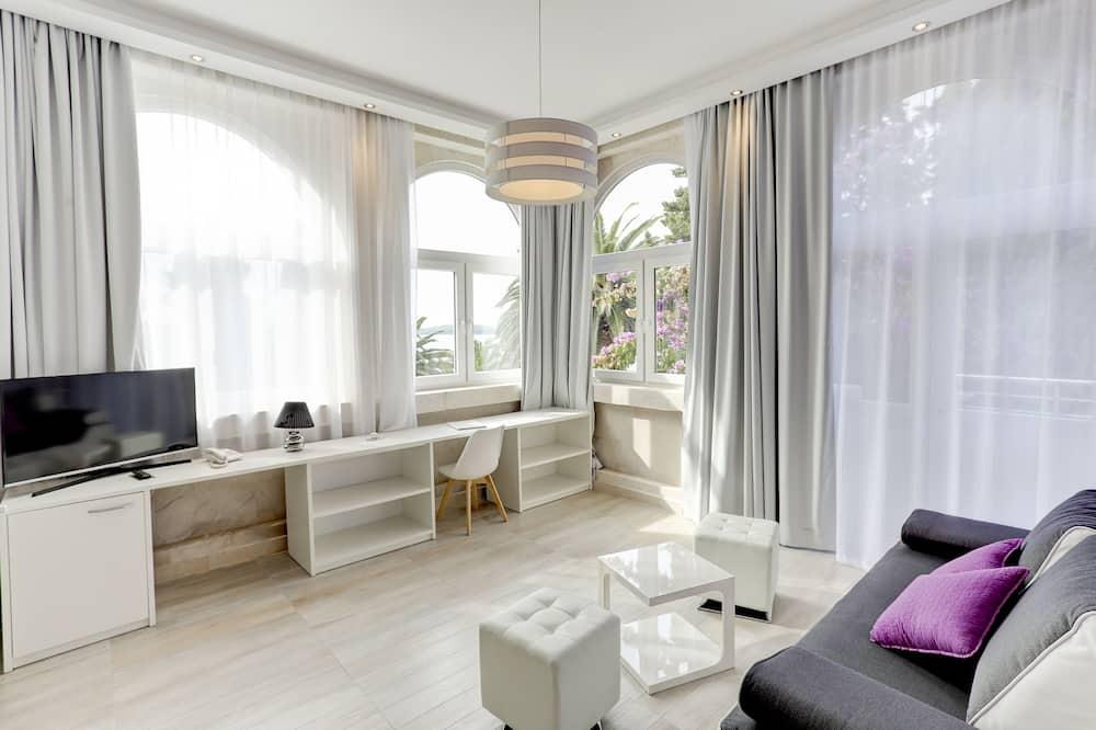 Suite Deluxe, terraza, vistas al mar (Smart Lobby Suite) - Zona de estar