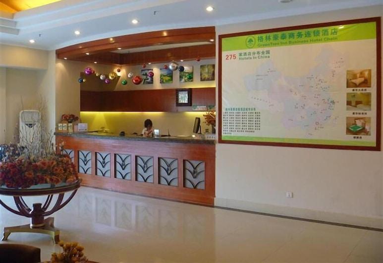 GreenTree Inn Jiujiang Railway Station Hotel, ג'יוג'יאנג, קבלה