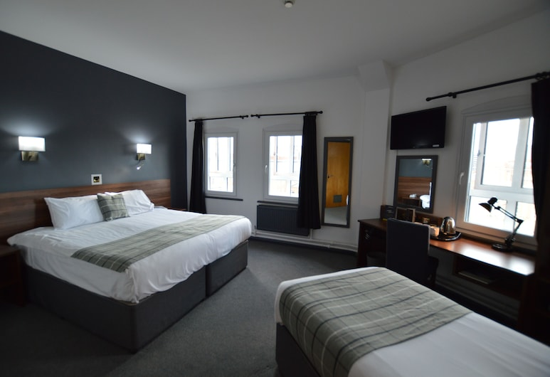 The Castlefield Hotel, Manchester, Family Room, Guest Room