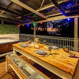 Casa de campo, 1 habitación, bañera de hidromasaje - Balcón