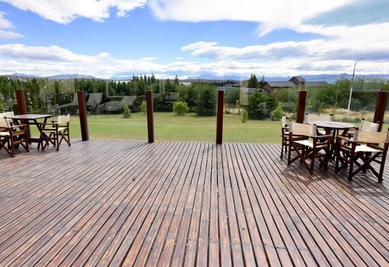 Hotel Picos del Sur, El Calafate, Speisen im Freien