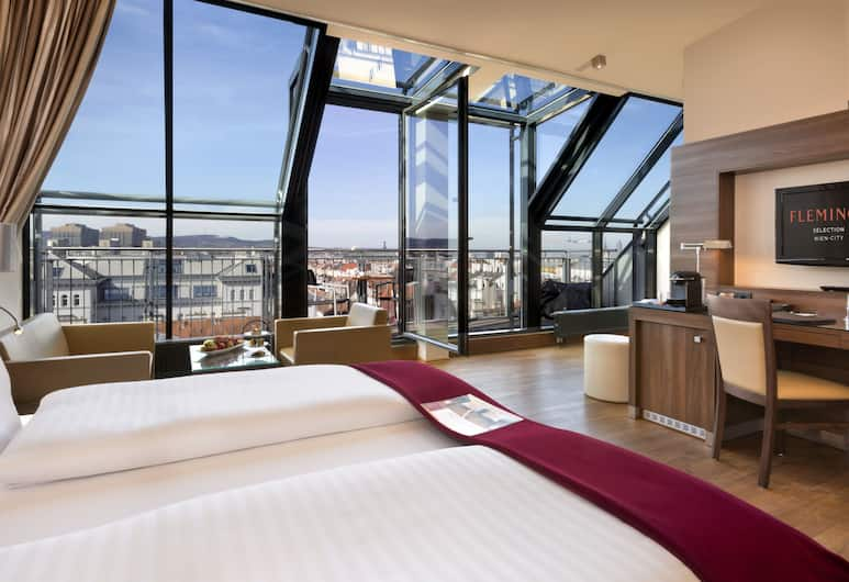 Fleming's Selection Hotel Wien-City, Vienna, Phòng Suite Junior, Quang cảnh thành phố, Phòng