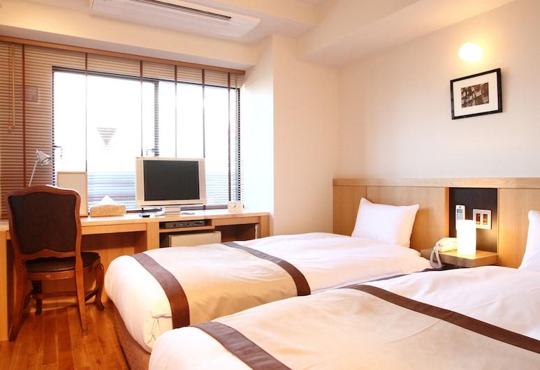 サットンプレイスホテル上野, 台東区, ツインルームシングルサイズベッド 2 台禁煙, 部屋