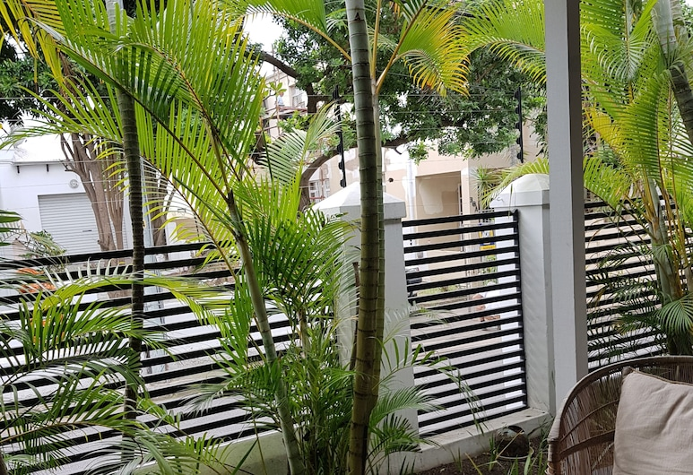 The Concierge, Durban, Deluxe-Doppelzimmer, Badewanne, zum Innenhof hin, Terrasse/Patio