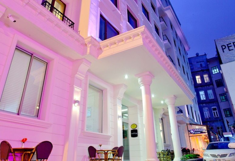 City Center Hotel Taksim, Istanbul, Mặt tiền khách sạn