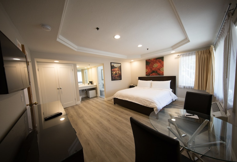 Wilshire Crest Hotel Los Angeles, Los Angeles, Standard Room, 1 Queen Bed, Non Smoking, Guest Room