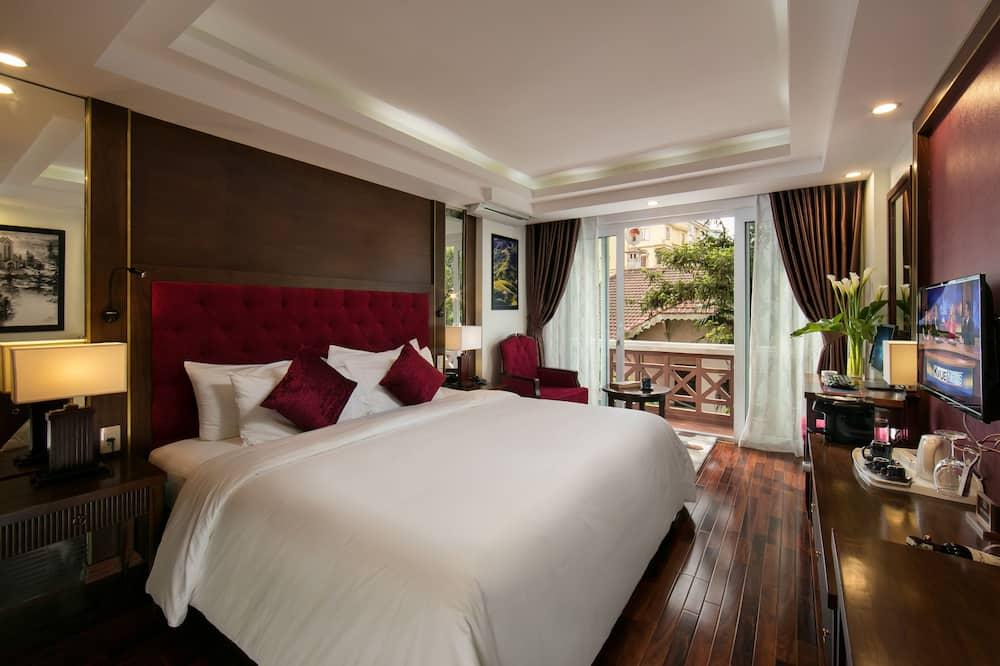 Pagerinto tipo kambarys, balkonas - Svetainė