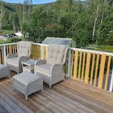 Design négyágyas szoba - Terasz/udvar