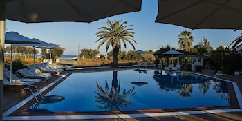 Foto van Galaxy Hotel in Naxos