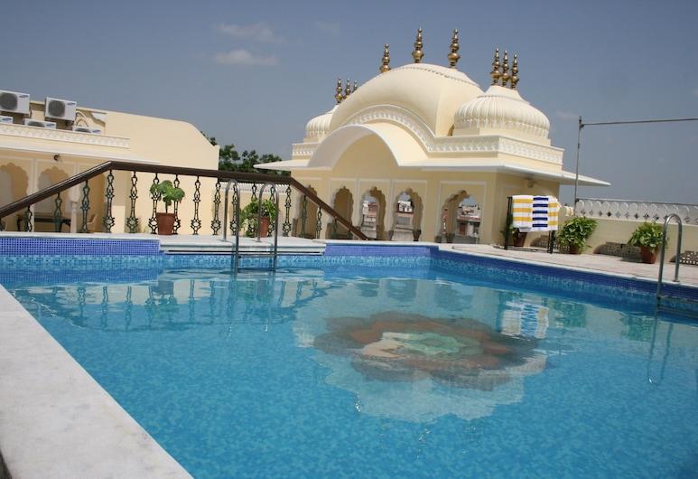 坎德拉哈維遺產精品酒店, 齋浦爾, 室外泳池