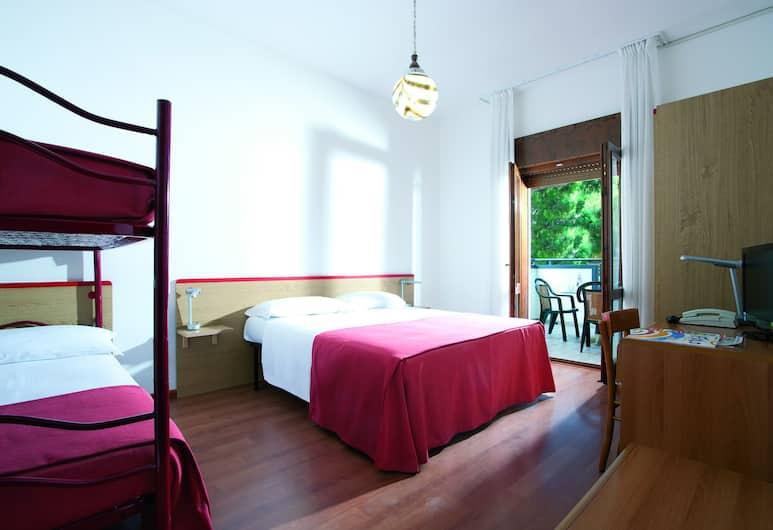 Hotel Diana, Jesolo, Quadrupla Standard, Camera
