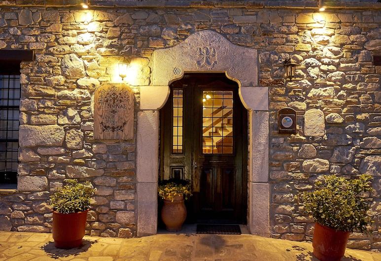 أترابوس هوتل, زاجورا موريسي, مدخل الفندق