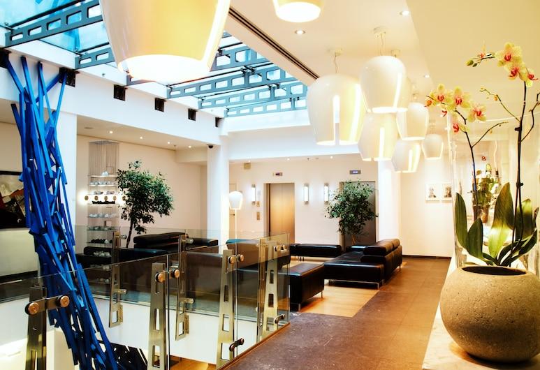 Aqua Hotel Brussels, BRUSEL, Priestory na sedenie v hale