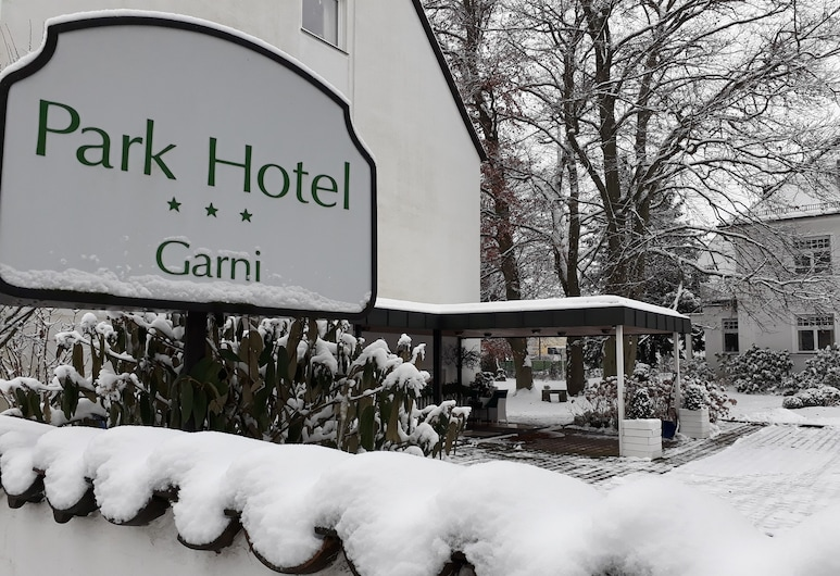 Park Hotel, Núremberg, Fachada del hotel
