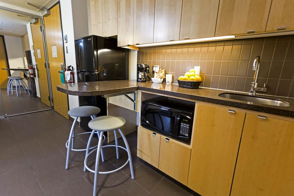 One Bedroom Dormitory Apartment, International House - Microwave