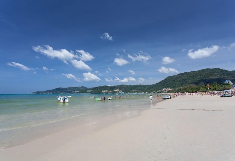 Tropica Bungalow Resort, Patongas, Paplūdimys