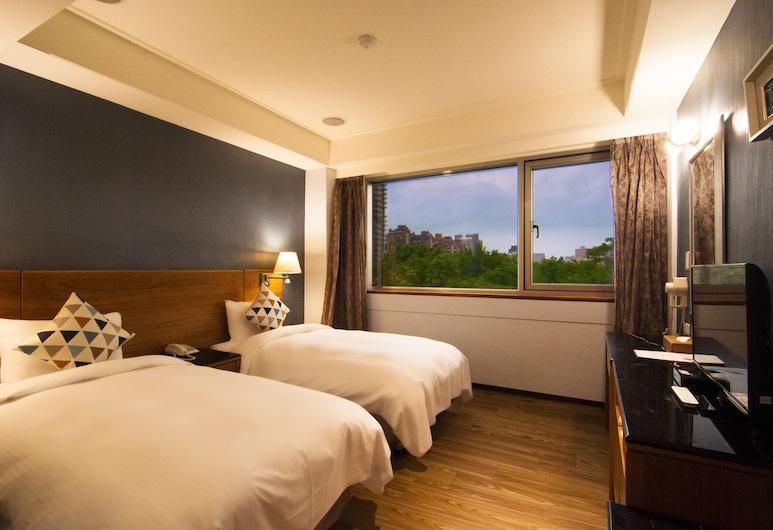 多郎明哥大飯店, 台北市, 雙床房(15:00入住, 無停車位), 客房景觀
