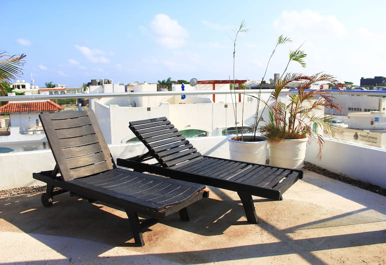 Cache Hotel Boutique - Adults Only, Playa del Carmen, Terrasse/Patio