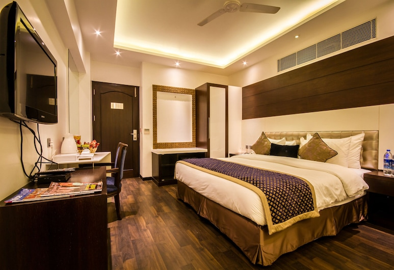 Hotel Grand Godwin, New Delhi, Executive Room, Bilik Tamu