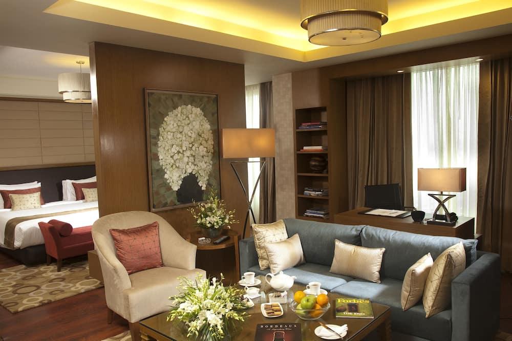 Номер-люкс із покращеним обслуговуванням, 1 спальня - Вітальня