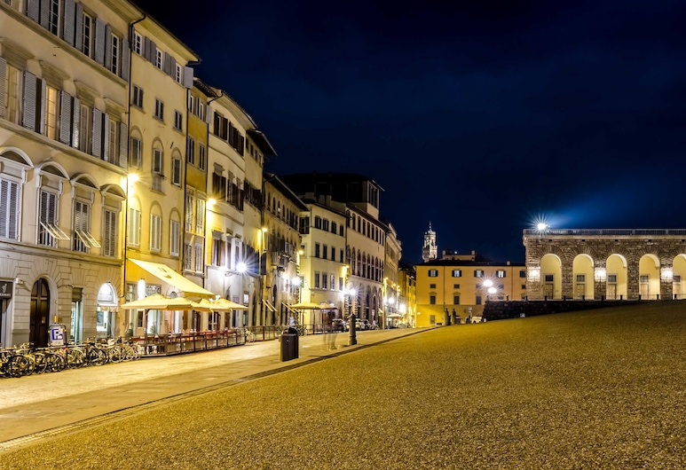 Soggiorno Pitti, Florence, Façade de l'hôtel - Soir/Nuit