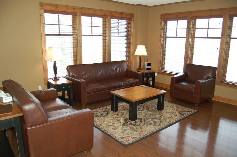 公寓客房, 3 間臥室, 熱水浴缸 - 客廳