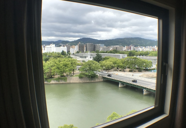 Sotetsu Grand Fresa Hiroshima, Hiroshima, Habitación doble, para no fumadores, vista al parque, Vista de la habitación