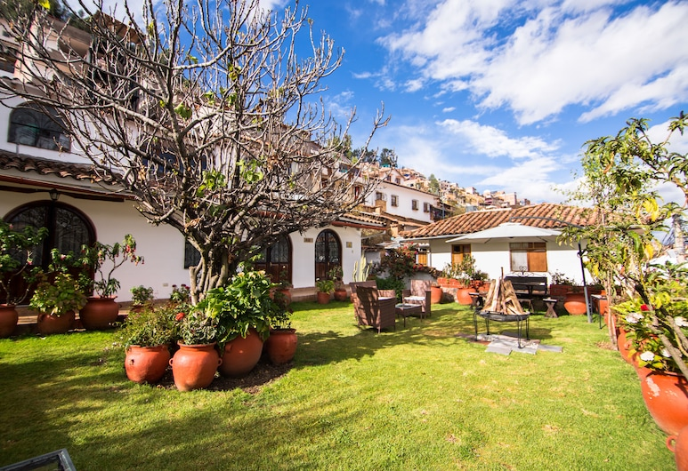 Encantada Casa Boutique Spa, Cusco, Hotelový areál