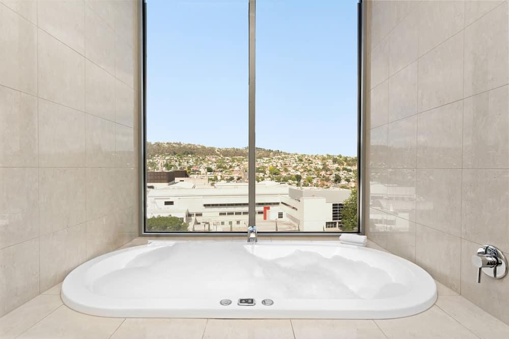 דירה, חדר שינה אחד, אמבט זרמים - חדר רחצה