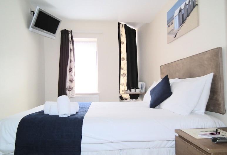 The Kelvin Guest House, Brighton, Standard Double Room, Shared Bathroom, Bilik Tamu