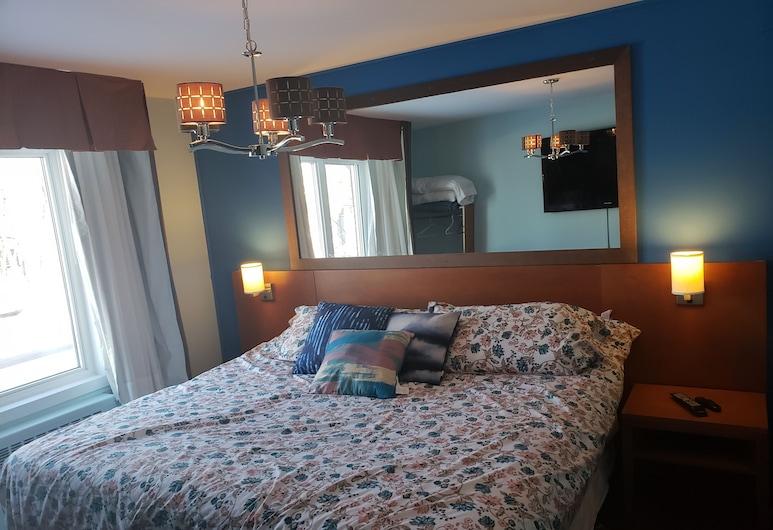 Auberge Maison Roy, Québec,  Chambre Lit King Size Deluxe , Vue depuis la chambre