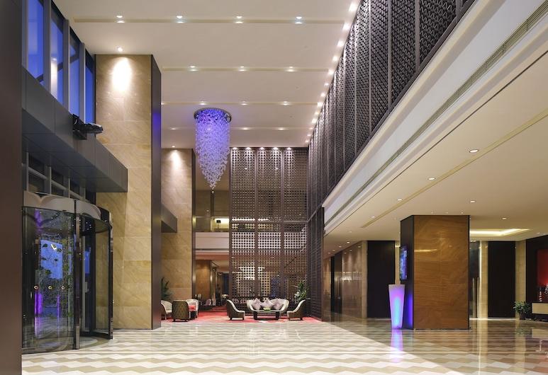 The Qube Hotel Shanghai Pudong, Shanghai, Eingangsbereich