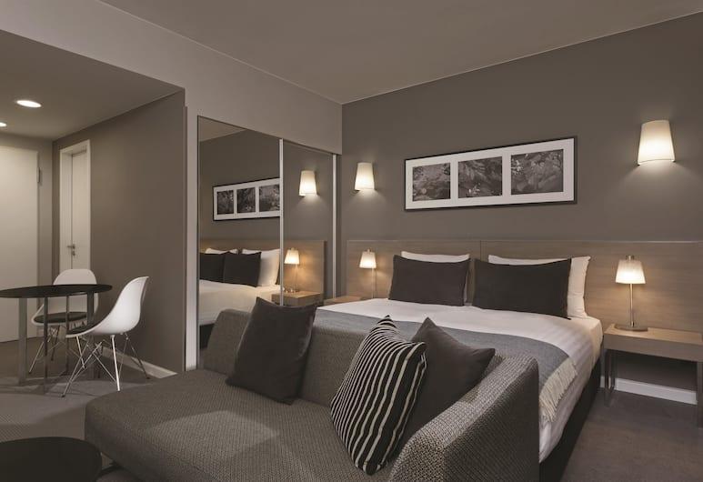 Adina Apartment Hotel Hamburg Michel, Hamburk, Studio, dvojlůžko (200 cm), Pokoj