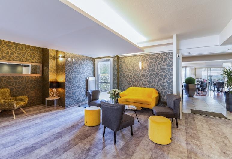 Beaujoire Hotel, Nantes, Interior Entrance