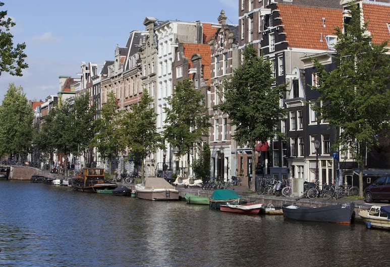 Hotel Hegra Amsterdam, Amsterdam, Průčelí hotelu