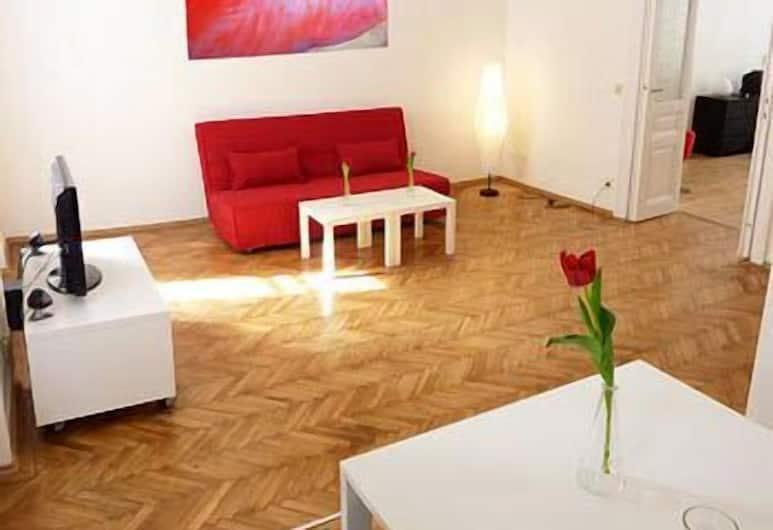 Apartment Vereinsgasse 9, Vīne, Apartment for 4 people, Dzīvojamā zona
