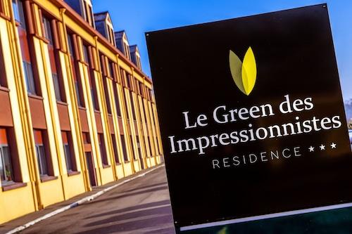 綠色印象派公寓飯店/