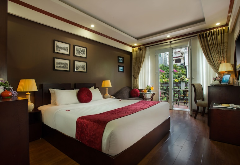 Paradise Boutique Hotel, Hanoi, Ausblick vom Zimmer