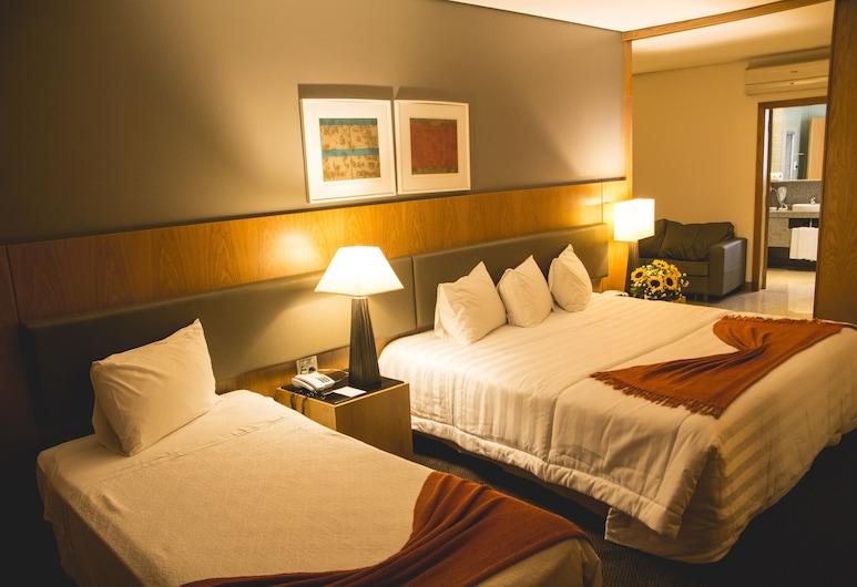 Marabá Hotel, San Paulas, Žemesnės liukso klasės trivietis kambarys, Svečių kambarys