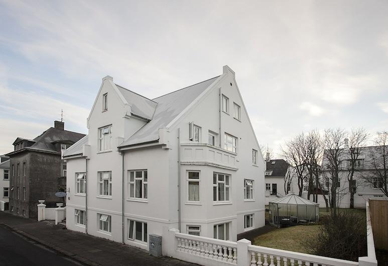 Hotel Hilda, Reykjavík, Hótelframhlið