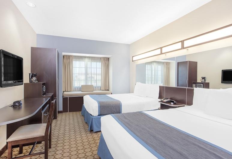 Microtel Inn & Suites by Wyndham San Angelo, San Angelo, Apartmán, 2 veľké dvojlôžka, bezbariérová izba, nefajčiarska izba (Mobility), Hosťovská izba