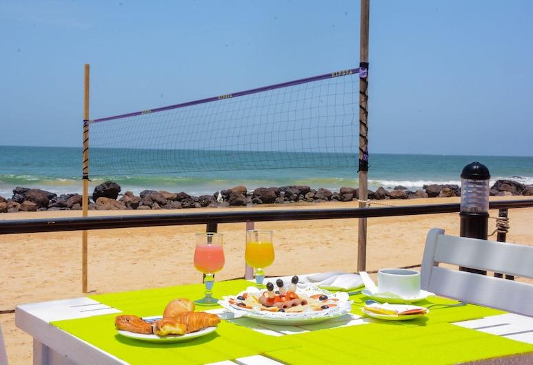 Hotel Africa Queen, La Somone, Área para desayunar
