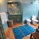 Lakosztály (Chefchaouen) - Fürdőszoba