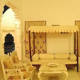 غرفة ديلوكس - غرفة معيشة