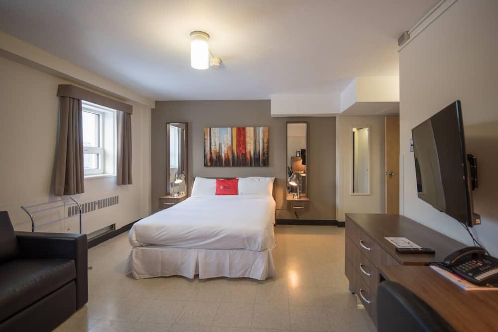 חדר, מיטת קווין, חדר רחצה פרטי - חדר אורחים