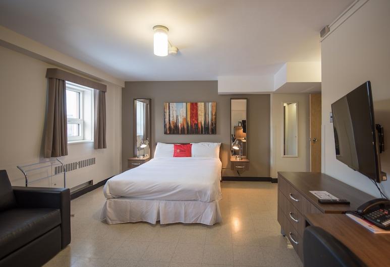 Residences Université Laval, Québec, Værelse - 1 queensize-seng - privat badeværelse, Værelse