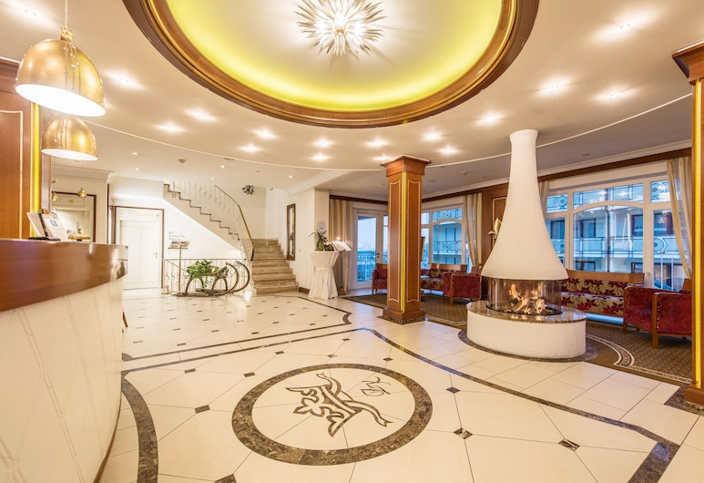 Hotel Restaurant Dreiflüssehof, Passau, Lobby