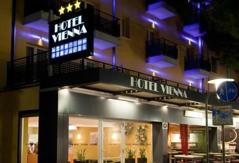 Hotel Vienna, Jesolo, Facciata hotel