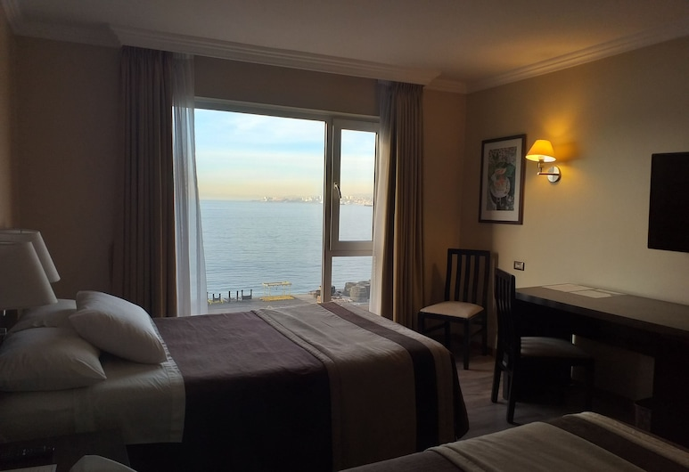 Diego De Almagro Valparaiso, Valparaíso, Habitación doble, vista al mar, Vista de la habitación
