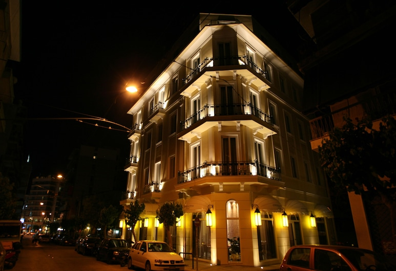 Athens Lotus Hotel, Atene, Facciata hotel (sera/notte)